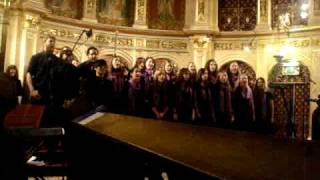 Absolute Hardcore Harmony Acapella Choir singing