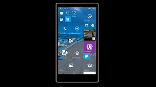 Windows 10 Lumia 730 Build 10166 - most stable Yet