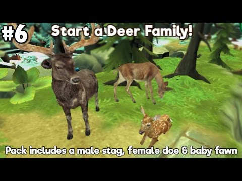 My Wild Pet - Online Animal Rescue -Deer Family- Android / iOS - Gameplay Part 6