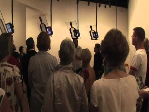 Broadcast Exhibition Walkthrough with artists Siebren Versteeg and Gregory Green