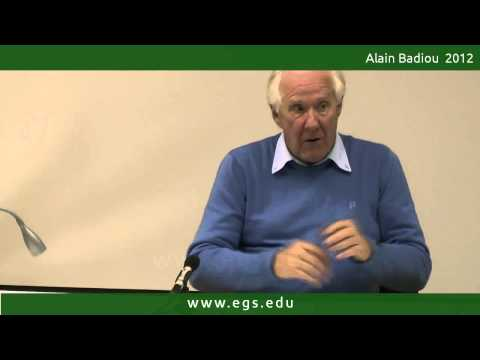 Alain Badiou. From Logic to Anthropology, or Affirmative Dialectics. 2012