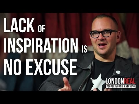 HOW TO GET THINGS DONE WHEN YOU'RE NOT INSPIRED - Cory Doctorow on London Real