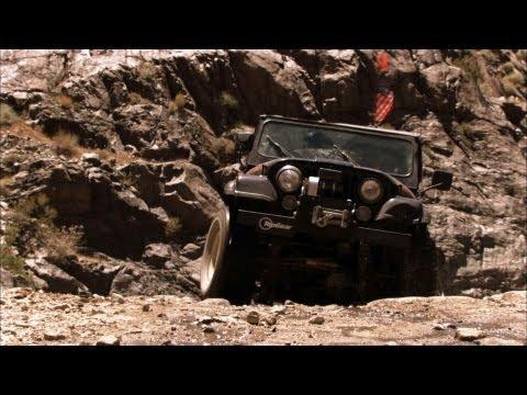 Death Valley 4x4 Challenge Part 1 - Top Gear USA - Series 2