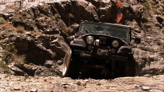 Death Valley 4x4 Challenge Part 1 - Top Gear USA - Series 2