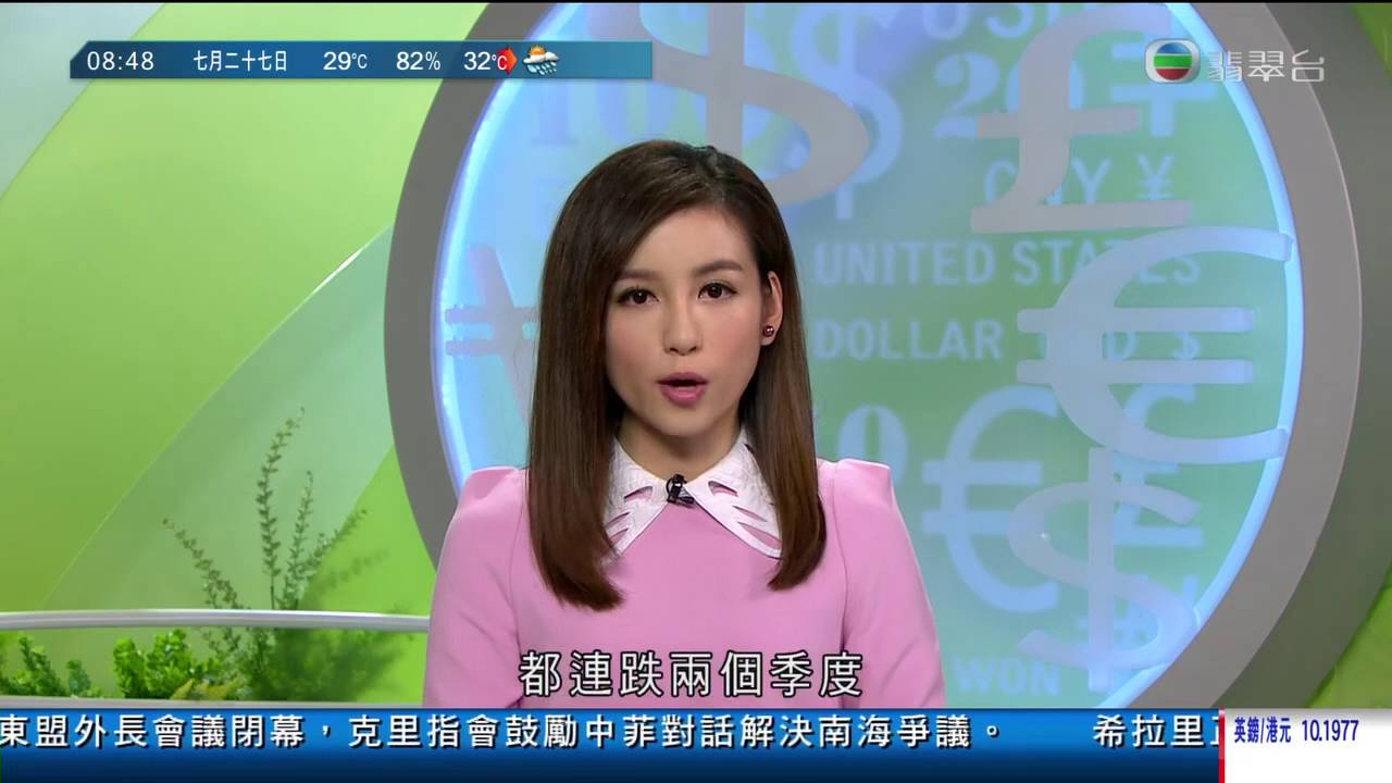 TVB 翡翠臺[香港早晨財經]20160727 - YouTube