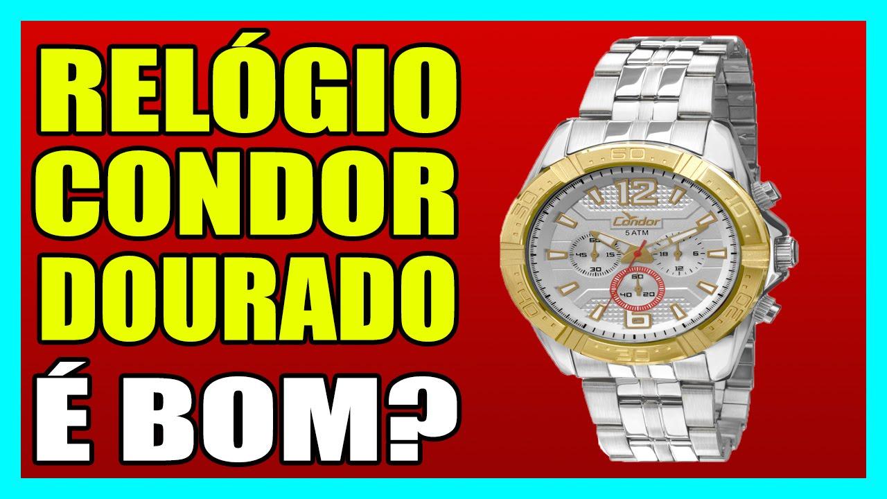 55932107d72 RELÓGIO CONDOR DOURADO - Relógio