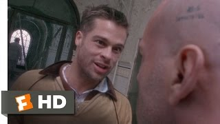 12 Monkeys (4/10) Movie CLIP - Institutionalized With Jeffrey (1995) HD
