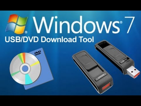 Windows 7 USB DVD Download Tool - загрузочная флешка Windows 7.