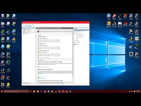 How To Block A Program With Windows Firewall (Windows 10)