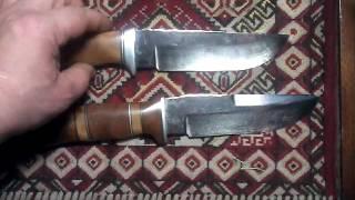 Обзор самодельных ножей. Ножи из стали х12мф.