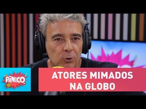 Existem atores mimados na Globo? Alexandre Borges responde | Pânico