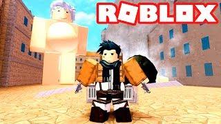 Roblox - ATTACK DER TITANS | SHINGEKI KEIN KYOJIN!! -Angriff auf Titan: Untergang #2 🎮