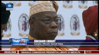 obasanjo presidential library officially opens today