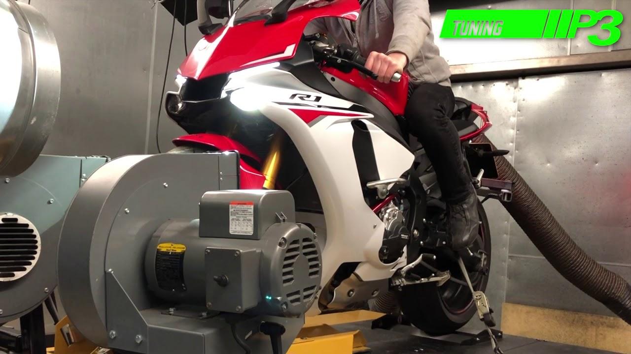 Yamaha YZF R1 Full Custom ECU Mapping using Woolich Racing software P3  tuning