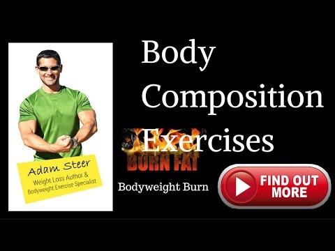 body composition exercises -bodyfat burn