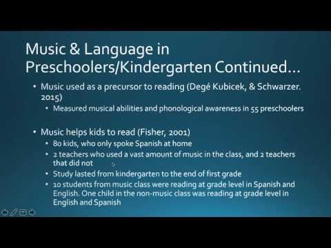 Music and Language Development