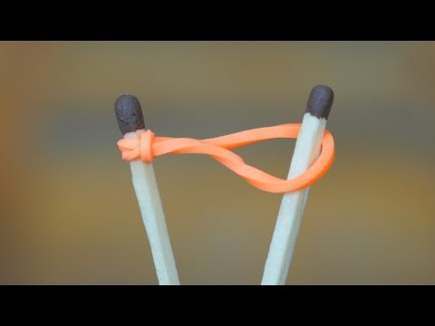 Thumbnail: How to Light a Match with a Rubber band