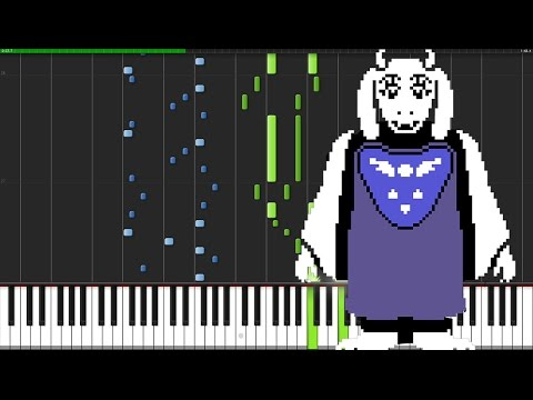 Heartache - Undertale [Piano Tutoriel] (Synthesia)