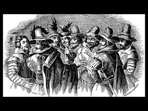 5th November 1605: Guy Fawkes discovered during Gunpowder Plot