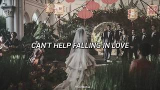 Gambar cover °Crazy Rich Asians - CAN'T HELP FALLING IN LOVE (sub español) Kina Grannis.