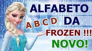 O Alfabeto da Frozen Para Crianças!!!