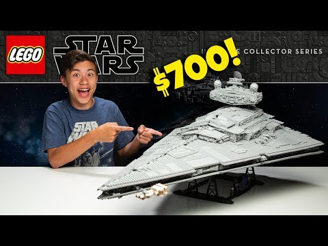 BUILDING A $700 LEGO SET!!! LEGO Star Wars: UCS Imperial Star Destroyer - Time-lapse Build & Review!
