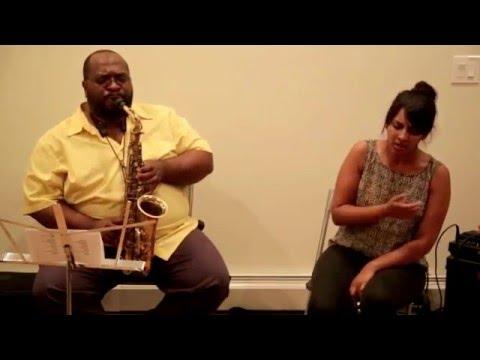 Darius Jones & Amirtha Kidambi - New Revolution Arts, Brooklyn - July 18 2015