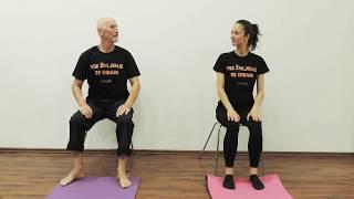 Simbioza Giba: Vaji - počepi (2 izvedbi) & vadba za moč spodnjih okončin