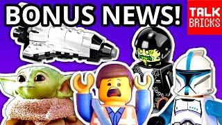 BONUS LEGO NEWS! Next Star Wars UCS Set! LEGO Baby Yoda! Space Station! Tesla Cybertruck! & MORE!