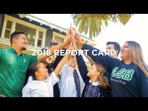 2018 Report Card (Fairmont Private Schools)