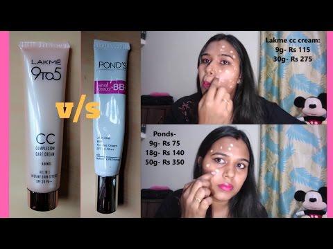 Lakme CC Cream Vs Ponds BB Cream   Review   Demo Mp3