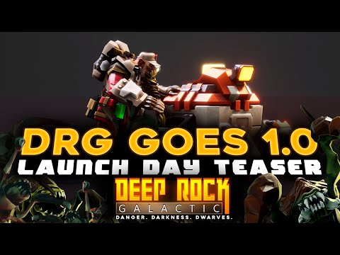 Deep Rock Galactic - Teaser - Launch 13th of May