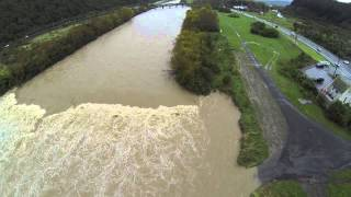 Hutt River in Flood 14/5/2015