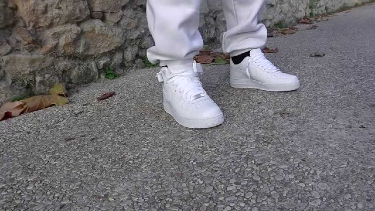 Nike Air Preparandose Force 1 Blanco Preparandose Air Youtube f647aa