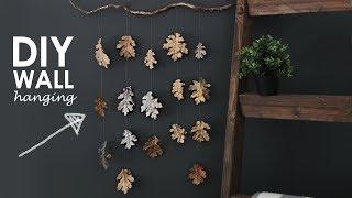 DIY | Fall Leaf Wall Hanging
