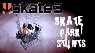 Skate 3 - Part 18 | SKATE PARK STUNTS | Skate 3 Funny Moments