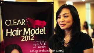 Seleksi Clear Hair Model 2012
