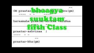 Bhagya Suktam Class V