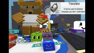 GETTING THE FIRST TRANSLATOR FROM SCIENCE BEAR | Roblox Bee Swarm Simulator