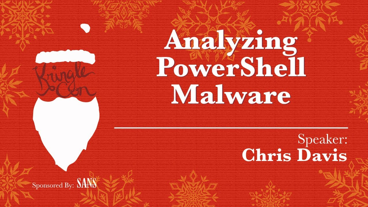 Analyzing PowerShell Malware – Cyber Forensicator