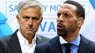 It 39 s far fetched to say Manchester United is a happy club Rio Ferdinand talks Mourinho