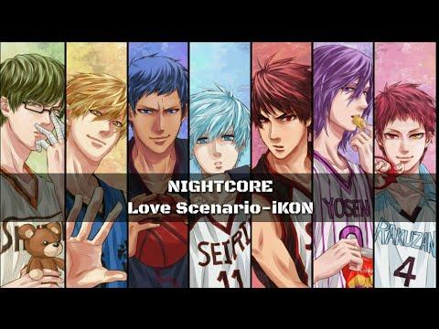 Nightcore• iKON-LOVE SCENARIO(Easy Lyrics) - YouTube