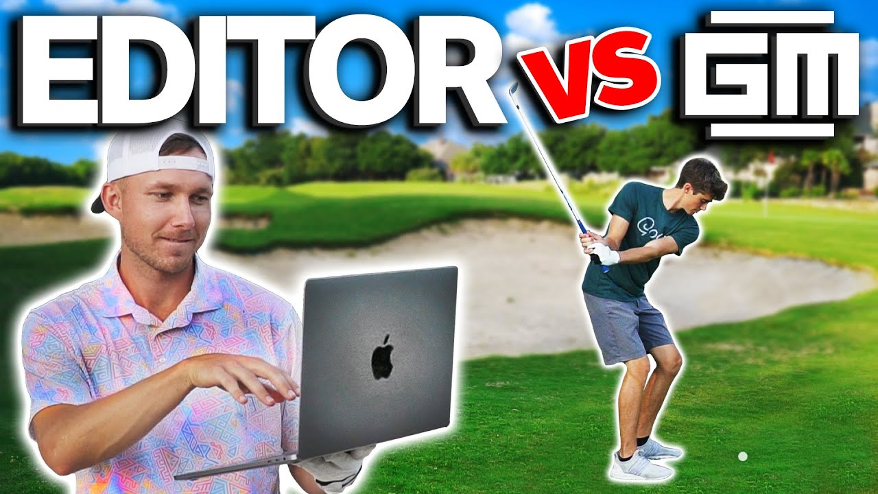 My EDITOR Flew 1,500 Miles To Play Me In A Golf Match... This Is What Happened