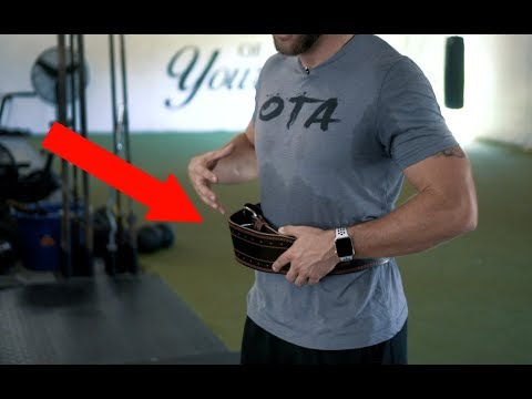 When to Use Weight Belts with Athletes | Overtime Athletes
