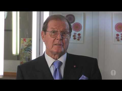 """Roger Moore's Special Message at """"The Music of Bond: The First 50 Years"""""""
