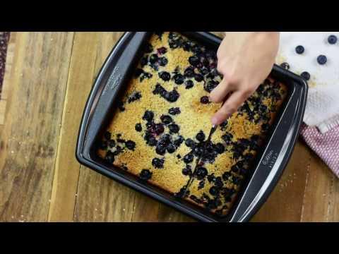 Blueberry Almond Baked Oat Bran