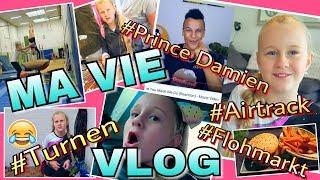 MaVie's VLOG Airtrack Turnen Prince Damien 💥 Flohmarkt Haul   Mavie Noelle