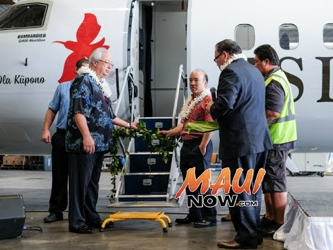 Island Air Blesses New Bombardier Q400 Aircraft