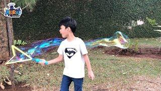 giant bubbles gelembung sabun super besar