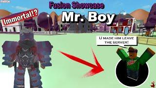 Mr. Boy *Immortal stand!?* - Project JoJo Fusion Showcase (PJJ) - ROBLOX